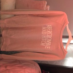 Light pink sweater shirt